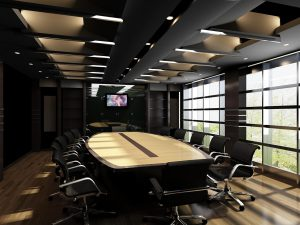Image of conference room table