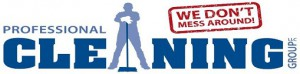 professional cleaning group logo
