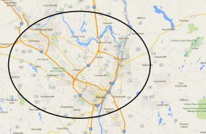 map areas we clean in Albany