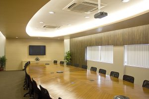 image of a clean conference room