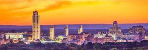 image of albany NY skyline